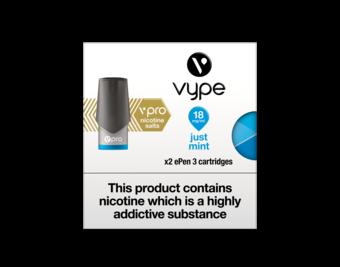 VYPE ePEN 3 Vpro Cartridges Just Mint Flavour