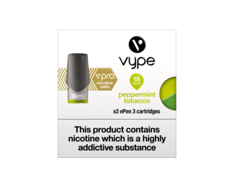VYPE ePEN 3 Vpro Cartridges Peppermint Tobacco Flavour