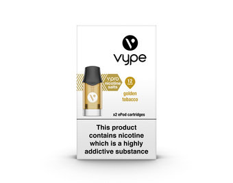 VYPE ePOD Cartridges Golden Tobacco Flavour
