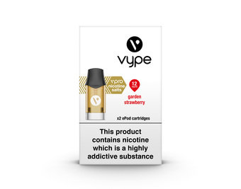 VYPE ePOD Cartridges Garden Strawberry Flavour