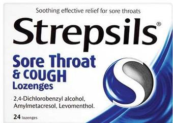Strepsils Sore Throat & Cough Lozenges 24