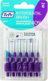 Tepe Interdental Brushes Purple