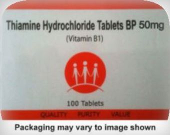 Thiamine 50mg Tablets Pack of 100