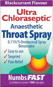 Ultra Chloraseptic Anaesthetic Throat Spray 15ml