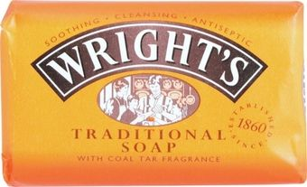 Wrights Bath Soap Coal Tar 125g