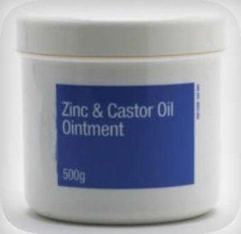 Zinc & Caster Oil Ointment Bp 500g