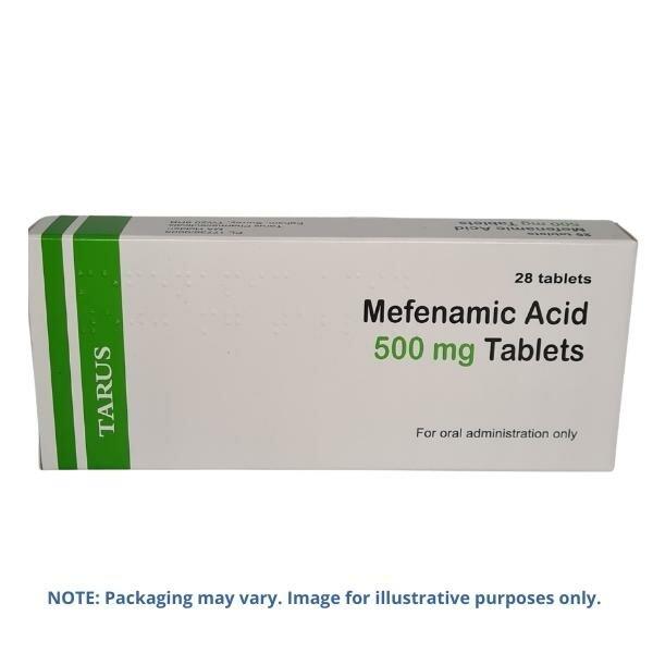 Mefenamic Acid 500mg Tablets