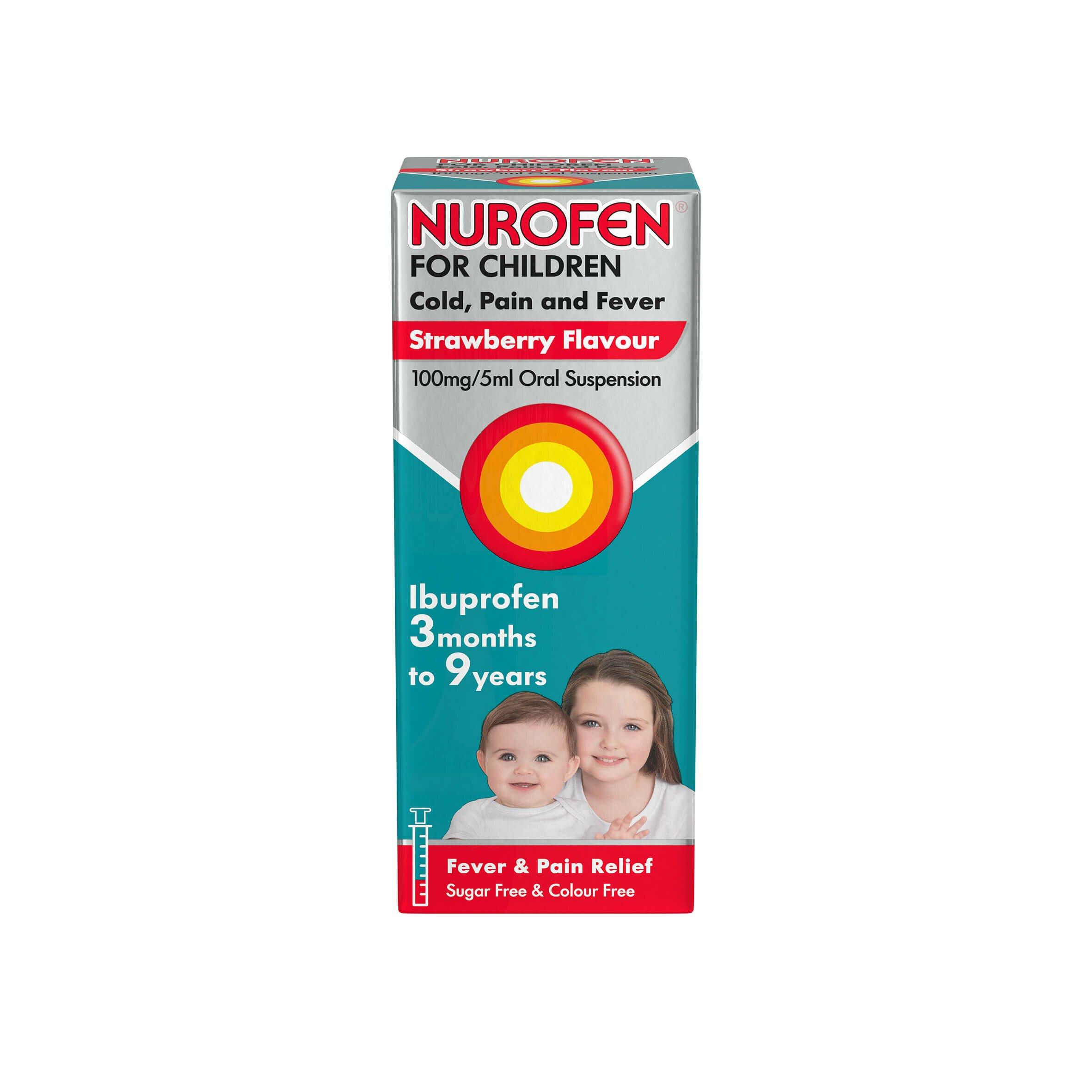 Nurofen For Children 3 Months To 9 Years