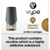 VYPE ePEN 3 Cartridges Blended Tobacco Flavour