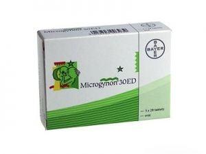 Microgynon 30 ED - 3 month course
